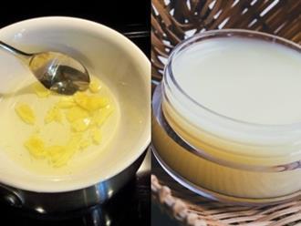 3 công thức làm kem dưỡng ban đêm giúp da sạch mụn, trắng hồng không tì vết chỉ sau 1 tuần