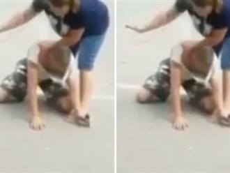 Giật điện thoại của cô gái, không ngờ bị nạn nhân tát cho khốn khổ