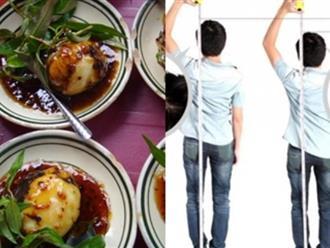 Cách ăn trứng vịt lộn giúp tăng chiều cao hiệu quả