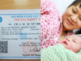 Chế độ thai sản mới nhất cho mẹ sinh con nửa cuối năm 2017