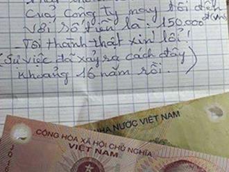 150.000 đồng đổi 2 bao xi măng thất thoát 16 năm trước và lời xin lỗi muộn màng của người công nhân