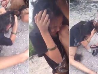 Ngủ với chồng người khác, cô gái bị đánh dã man, cắt tóc tả tơi giữa đường