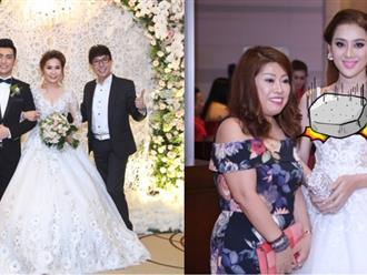 Ca sĩ chuyển giới Lâm Khánh Chi đẹp 'vượt mặt' cô dâu khi tham dự lễ cưới chồng cũ Phi Thanh Vân