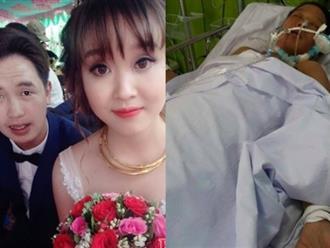 Tâm sự đẫm nước mắt của chồng khi vợ đang giành giật sự sống: 'Con đã mất cách đây gần nửa tháng mà ngày nào vợ cũng hỏi thăm'