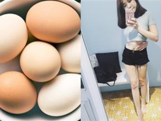 Thực đơn giảm cân nhanh nhất trong 3 ngày với chuối và trứng gà