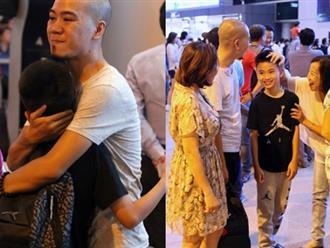 Nữ diễn viên Kim Hiền và hai con về nước, hành động của chồng cũ lúc nửa đêm khiến fan bất ngờ