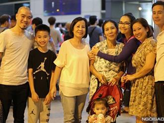 Kim Hiền về nước và thân thiết chồng cũ: Cư dân mạng ngã mũ bái phục sự bao dung của người chồng mới Andy