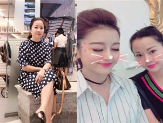 Ở tuổi U50, mẹ Á hậu Huyền My trẻ trung 'ăn đứt' con gái xinh đẹp
