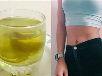 Uống nước bưởi luộc mỗi ngày mỡ bụng cứ thế giảm lúc nào không hay