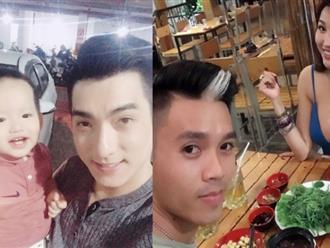 Chồng cũ Phi Thanh Vân 'trốn' vợ mới đến thăm con trong khi nữ diễn viên mặc sexy đi ăn với trai đẹp