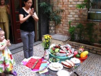 Các bài cúng rằm tháng 7 tại nhà và cơ quan chuẩn nhất