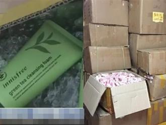 Phát hiện kho mỹ phẩm giả khổng lồ từ Trung Quốc, nhiều sản phẩm được dùng phổ biến tại Việt Nam