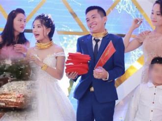 Đám cưới trao sổ đỏ biệt thự, ô tô, vàng khủng bị tố vô ý thức nhất Nghệ An