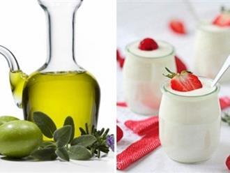 Đừng tiếc 1 phút đọc bài mà bỏ qua tuyệt chiêu làm đẹp với dầu oliu và sữa chua