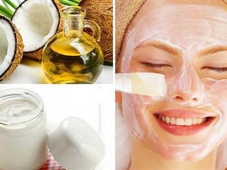 Cách làm đẹp da mặt bằng dầu dừa – Tuyệt chiêu giúp da trắng như Bạch Tuyết