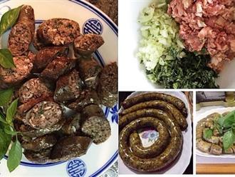 Làm món này từ lòng lợn ai ăn cũng thích, bao nhiêu cũng hết