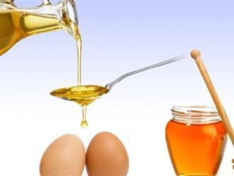 Chống lão hóa, trẻ da mặt với làm đẹp với dầu oliu và lòng trắng trứng