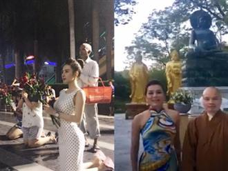 Trước 'sự cố' của MC Nguyễn Cao Kỳ Duyên, hàng loạt sao Việt từng diện trang phục xuyên thấu, 'thiếu vải' chốn linh thiêng khiến nhiều người tá hỏa