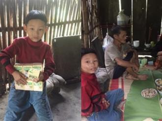 Cậu bé có mẹ bị lừa bán sang Trung Quốc, bố biệt tích 6 năm: Không còn ăn hạt mít thay cơm, sắp có nhà mới