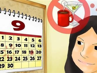 5 việc con gái nên tránh vào ngày đèn đỏ