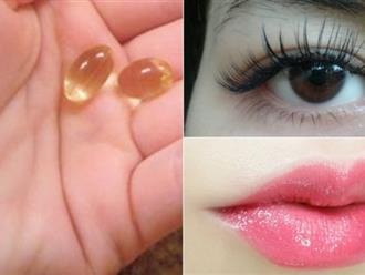 1 vỉ vitamin E 15.000 có tới 7 công dụng làm đẹp siêu thần kỳ đánh bại mỹ phẩm tiền triệu