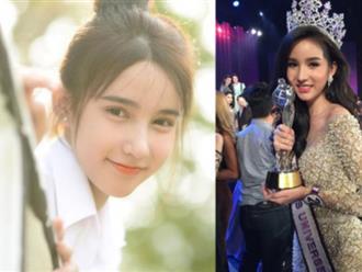 Mặt mộc Hoa hậu Chuyển giới Thái Lan 2017 được ví với thiên sứ, triệu người mê