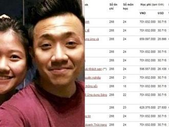 Khoe đậu đại học, em gái Trấn Thành gây choáng cộng đồng mạng khi nhìn mức học phí cao ngất ngưởng