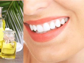 Cách làm trắng răng bằng dầu dừa – Tuyệt chiêu giữ gìn hàm răng trắng nụ cười xinh