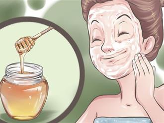 Rửa mặt bằng mật ong theo cách này da trắng mịn, trẻ lại 10 tuổi
