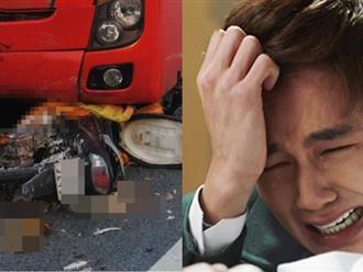 Thấy vụ tai nạn giao thông, chồng phớt lờ quay xe đi đường khác, rồi nhận được cuộc gọi khiến anh chết điếng