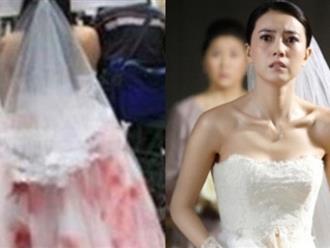 Mặc váy cưới dính đầy máu bước lên lễ đường, cô dâu vạch trần vị hôn phu giả dối
