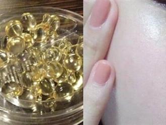 Dùng vitamin E dưỡng da mỗi ngày, hãy đọc ngay bài viết này để không khiến mụn 'nở hoa' đầy mặt