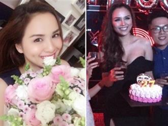Hoa hậu Diễm Hương tổ chức sinh nhật ấm cúng, tiết lộ quà chồng tặng