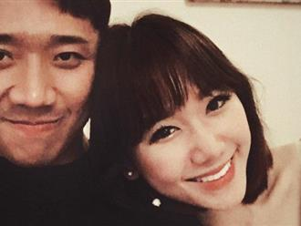 Trấn Thành đăng ảnh kỷ niệm 600 ngày yêu nhau, Hari Won liên tục than thở cô đơn, mất phương hướng