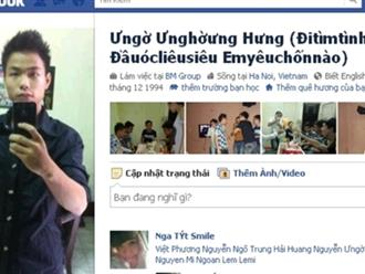 """""""Cười té ghế"""" với bộ sưu tập những cái tên Facebook độc nhất vô nhị của dân mạng Việt"""