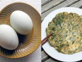 3 cách tăng cân siêu tốc chỉ với 1 quả trứng gà