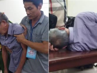 Phiên tòa xét xử cụ ông U80 hiếp dâm bé gái 3 tuổi: Bị cáo mệt mỏi nằm dài ra ghế, đi phải có người dìu
