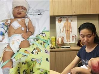 Lời cầu cứu của người vợ trẻ bị chồng bỏ rơi, con trai 18 tháng tuổi mắc bệnh não úng thủy mấy lần chết hụt
