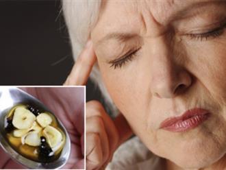 'Thần dược' khỏi đau nhức đầu nhanh chóng chỉ với tỏi, tiêu đen, mật ong