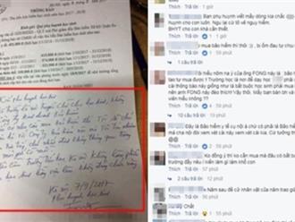 Phụ huynh đáp trả đánh thép trước giấy thông báo mua bảo hiểm: 'Trường là nơi truyền chữ chứ không phải công ty kinh doanh'