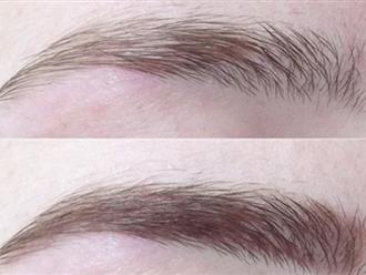 6 bước vẽ lông mày cánh cung tự nhiên cho nàng vụng về
