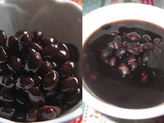 3 cách nấu chè đậu đen giảm liền 3cm vòng eo, không một dấu vết mỡ bụng chỉ sau 1 tuần uống liên tục