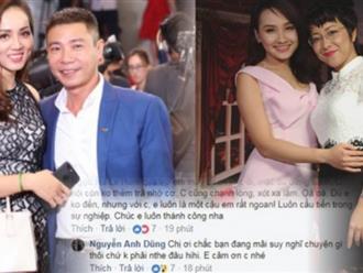Bị tố chảnh chọe, Bảo Thanh lấy MC Thảo Vân ra dằn mặt bạn gái Công Lý