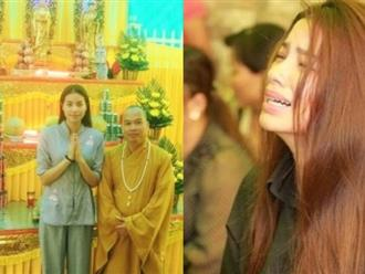 Hoa hậu Phạm Hương bị dân mạng chỉ trích nặng nề khi phạm phải điều cấm kỵ trong lễ cúng 49 ngày của bố