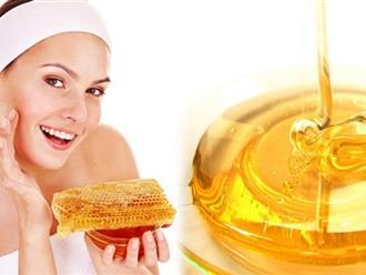 Trị sẹo lồi bằng mật ong giúp da làm mềm hóa và phẳng vết sẹo bị xơ cứng
