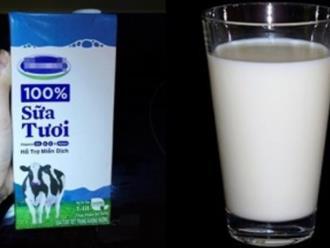 Mỗi sáng uống 1 ly sữa tươi không đường cho làn da đẹp, trắng mịn không tỳ vết