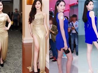 Choáng váng với hình ảnh hàng loạt sao Việt chưa qua photoshop: Da đen, chân thô, đùi to, bụng mỡ... nhìn là hết cả hồn