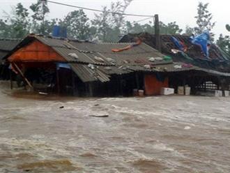 Cập nhật bão số 10 mới nhất: Bão chuyển hướng sang Lào, sắp suy yếu thành áp thấp nhiệt đới