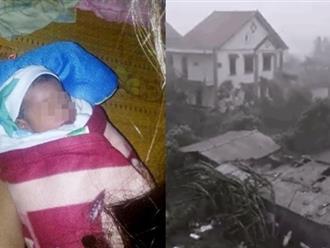 Bàng hoàng: Phát hiện bé trai sơ sinh mới 2 ngày tuổi bị bỏ rơi giữa vùng tâm bão