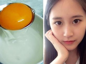 Làn da trẻ thêm 10 tuổi nhờ biết sử dụng trứng gà đúng cách còn hơn cả uống collagen